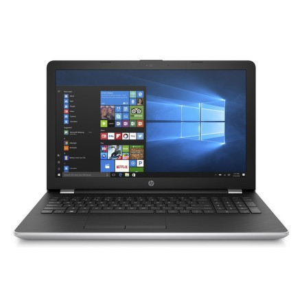 "Ntb HP 15-bs015nc Pentium N3710, 4GB, 256GB, 15.6"""", Full HD, DVD±R/RW, Intel HD 405, BT, CAM, W10 Home - stříbrný"