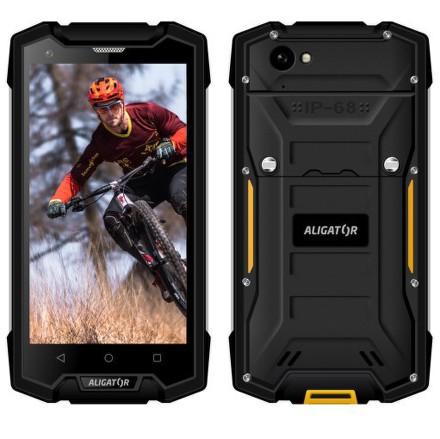 Mobilní telefon Aligator RX510 eXtremo - černý