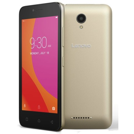 Mobilní telefon Lenovo B Dual SIM - zlatý