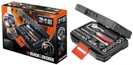 Sada nářadí Black&Decker A7142 31 dílná