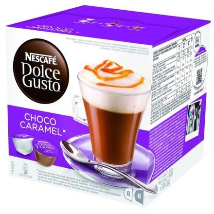 Kapsle NESCAFÉ Choco Caramel 16 ks Dolce Gusto