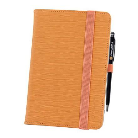 """Pouzdro na tablet GoGEN polohovací pro 7"""""""" + stylus - oranžové"""