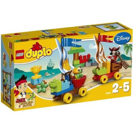 Stavebnice Lego® DUPLO Pirát Jake 10539 Závody na pláži
