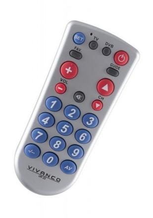 Dálkový ovladač Vivanco UR Z2 2v1