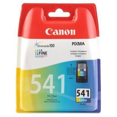 Inkoustová náplň Canon CL-541, 180 stran originální - červený/modrý/žlutý