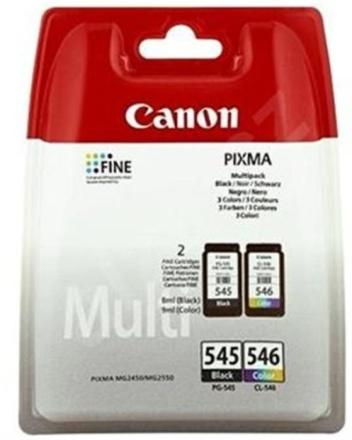 Inkoustová náplň Canon PG-545/CL-546 Multi originální - černá/červená/modrá/žlutá