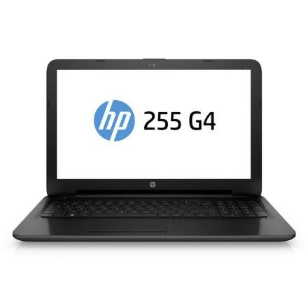 "Ntb HP 255 G4 AMD E1 -6015, 2GB, 500GB, 15.6"""", HD, DVD±R/RW, AMD Radeon R2, BT, CAM, DOS - černý"