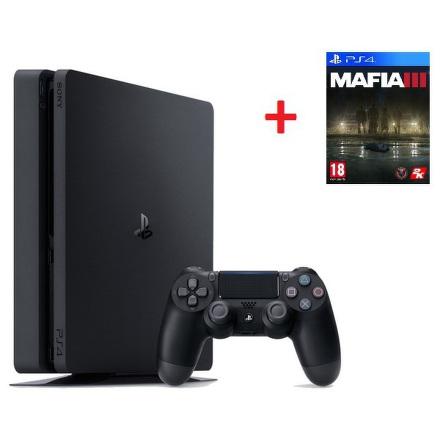 Herní konzole Sony PlayStation 4 SLIM 1TB + MAFIA III