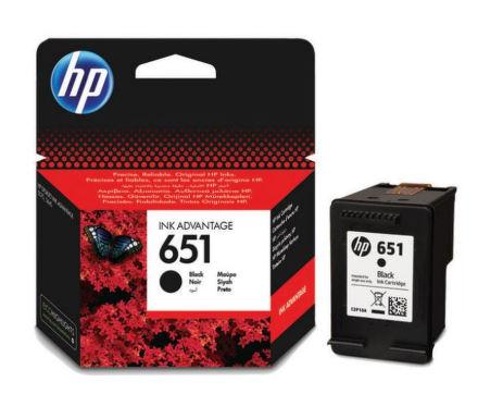 Inkoustová náplň HP 651, C2P10AE originální