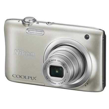 Fotoaparát Nikon Coolpix A100, stříbrný