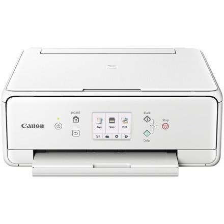Tiskárna multifunkční Canon PIXMA TS6051 A4, 15str./min, 10str./min, 4800 x 1200, duplex, WF, USB - bílá