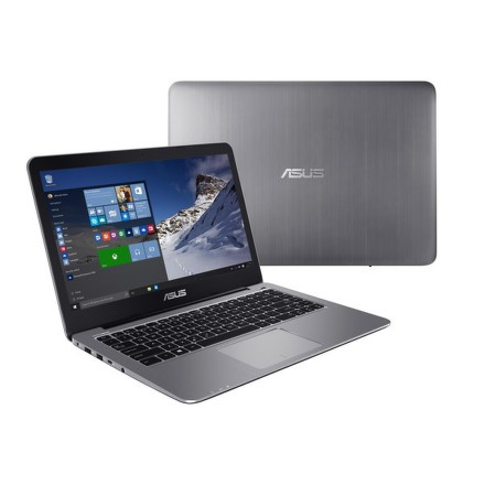 "Ntb Asus Eeebook E403SA-WX0076T Celeron N3060, 2GB, 32GB, 14"""", HD, bez mechaniky, Intel HD, BT, CAM, W10 - šedý"
