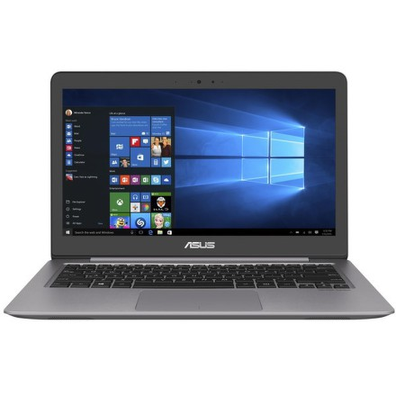"Ntb Asus Zenbook UX310UA-FC058T i3-6100U, 4GB, 128GB, 13.3"""", Full HD, bez mechaniky, Intel HD 520, BT, CAM, W10 - šedý"