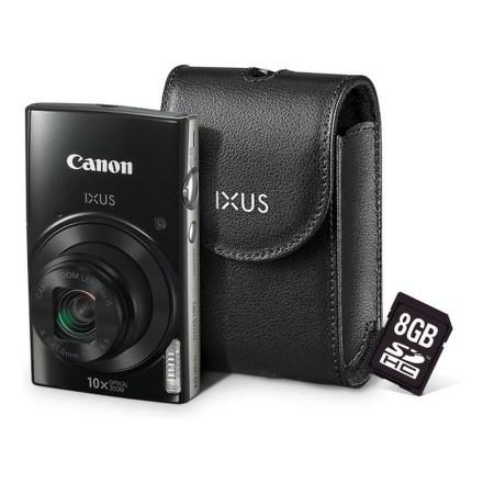 Canon IXUS 182 + orig.pouzdro + 8GB SD karta