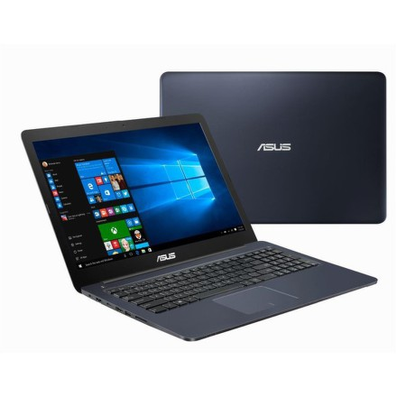 "Ntb Asus VivoBook E502NA-GO021T Celeron N3350, 4GB, , 500GB, 15.6"""", HD, bez mechaniky, Intel HD 500, BT, CAM, W10 Home - modrý"
