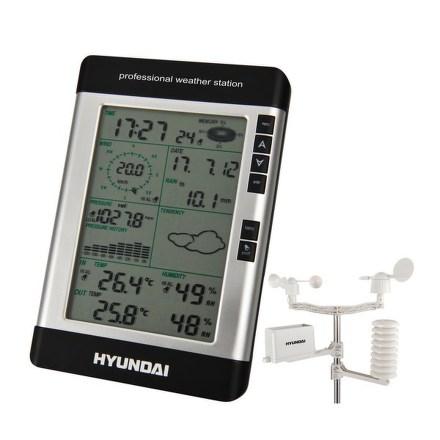 Meteostanice Hyundai WSP 3080 R WIND, s větroměrem a srážkoměrem