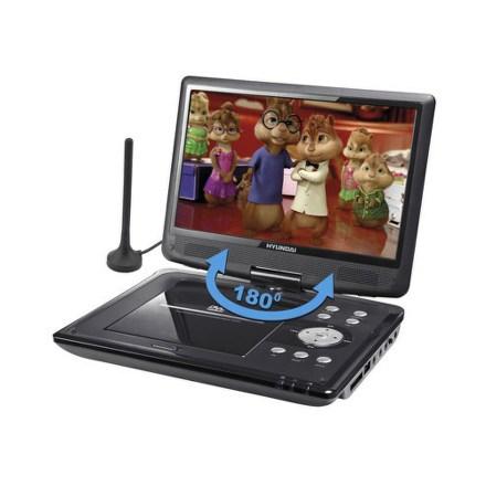 DVD přehrávač Hyundai PDP 10809 DVB-T, přenosný