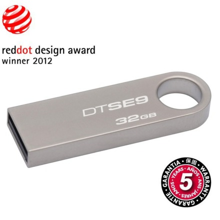 Flash USB Kingston DataTraveler SE9 32GB USB 2.0 - kovový