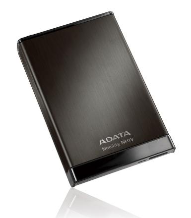 ADATA NH13 2TB External 2.5'' HDD Black