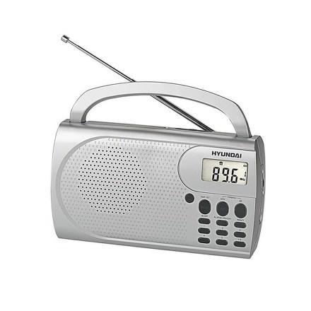 Radiopřijímač Hyundai PR 300 PLLS, stříbrný