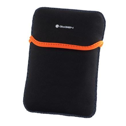 """Pouzdro na tablet GoGEN neoprenové pro 7,85"""""""" - černé/oranžové"""