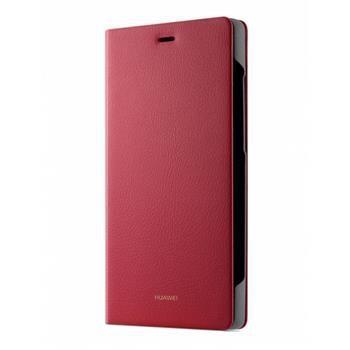 Pouzdro na mobil flipové Huawei pro P8 Lite - červené