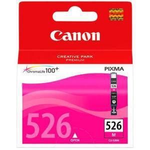 Inkoustová náplň Canon CLI-526M, 9ml originální - červená