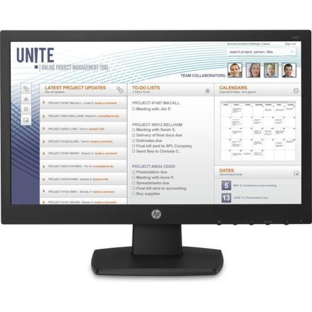 "Monitor HP V197 18.5"""",LED, TN, 5ms, 600:1, 200cd/m2, 1366 x 768,"
