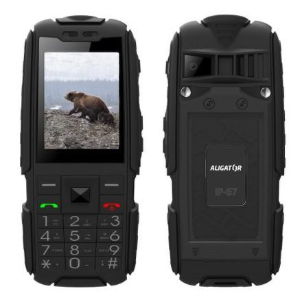 Mobilní telefon Aligator R20 eXtremo - černý