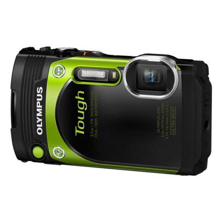 Fotoaparát Olympus TG-870, zelený