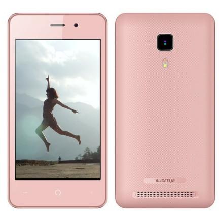 Mobilní telefon Aligator S4080 Dual SIM - růžový