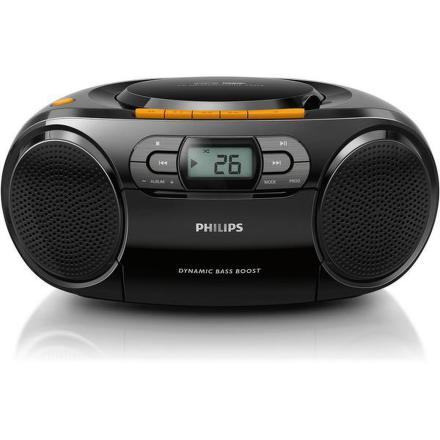 Radiomagnetofon s CD Philips AZ328