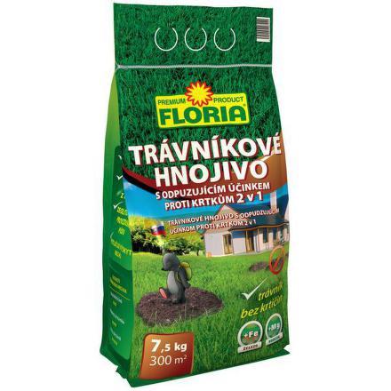 Hnojivo Agro FLORIA s odpuzujícím účinkem proti krtkům 7,5kg
