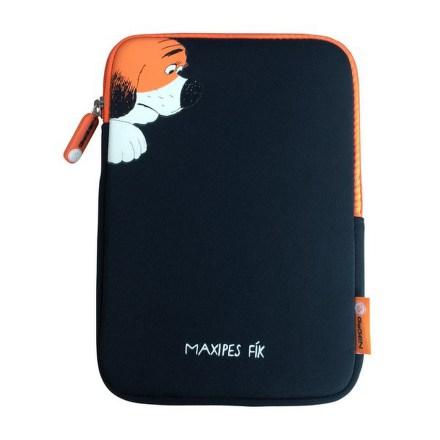 """Pouzdro na tablet GoGEN neoprenové pro 8"""""""" - dětské - černé/oranžové"""