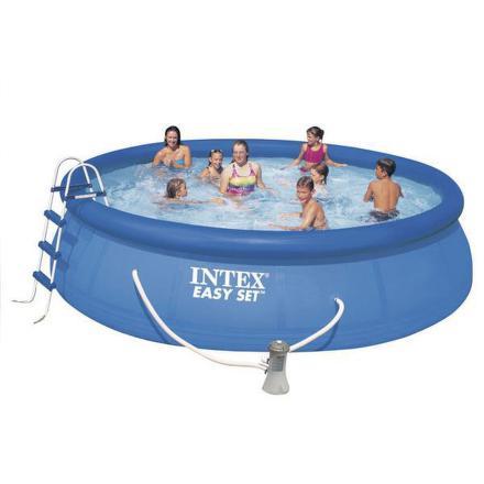Bazén Intex Easy Set 4,57x1,07 m, kartušová filtrace 3,4 m3/h