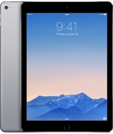 "Dotykový tablet Apple iPad Air 2 Wi-Fi 128 GB 9.7"""", 128 GB, WF, BT, Apple iOS - šedý"