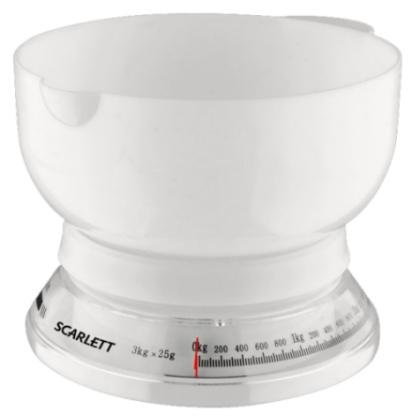 Váha kuchyňská Scarlett SC 1210 bílá
