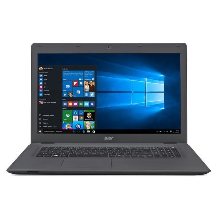 "Ntb Acer Aspire E17 (E5-772-30S6) i3-4005U, 4GB, 1TB, 17.3"""", HD+, DVD±R/RW, Intel HD, BT, CAM, W10 - šedý"