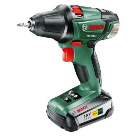 Aku vrtačka Bosch PSR 18 LI-2 (1 aku, 2,5 Ah)