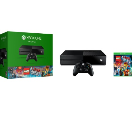 Herní konzole Microsoft Xbox One 500GB + LEGO Movie Videogame