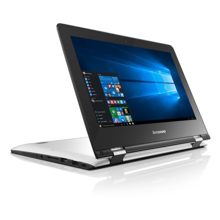 "Ntb Lenovo IdeaPad YOGA 300-11IBR Pentium N3710, 4GB, 32GB, 11.6"""", HD, bez mechaniky, Intel HD, BT, CAM, W10 - bílý"