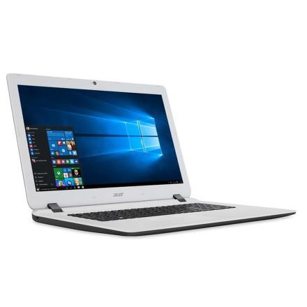 """Ntb Acer Aspire ES17 (ES1-732-C4KF) Celeron N3450, 4GB, 1TB, 17.3"""""""", HD+, DVD±R/RW, Intel HD, BT, CAM, W10 - černý/bílý"""