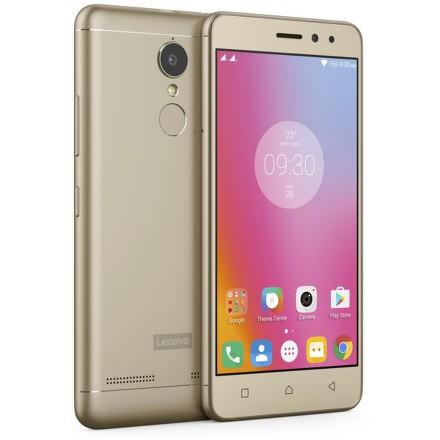 Mobilní telefon Lenovo K6 Power - zlatý