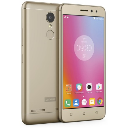 Mobilní telefon Lenovo K6 Power Dual SIM - zlatý