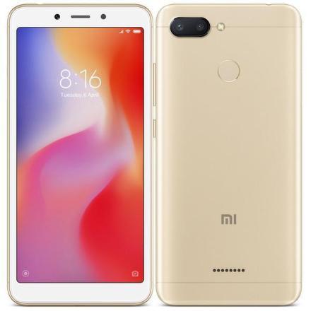 Xiaomi Redmi 6 Dual SIM 3GB/32GB - zlatý