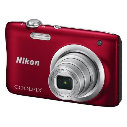 Fotoaparát Nikon Coolpix A100, červený