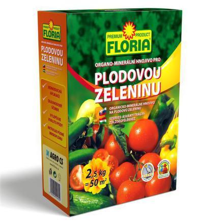 Hnojivo Agro FLORIA pro plodovou zel. 2,5 kg