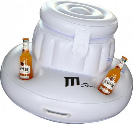 Box nafukovací Mspa na chlazení nápojů Ice Box - 5 držáků na sklenice