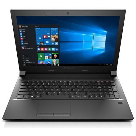 """Ntb Lenovo B50-80 i3-5020U, 4GB, 1TB, 15.6"""""""", HD, DVD±R/RW, Intel HD, BT, FPR, CAM, Win10 Pro - černý"""
