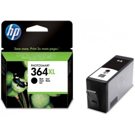 Inkoustová náplň HP No. 364XL, 18ml, 550 stran originální - černá